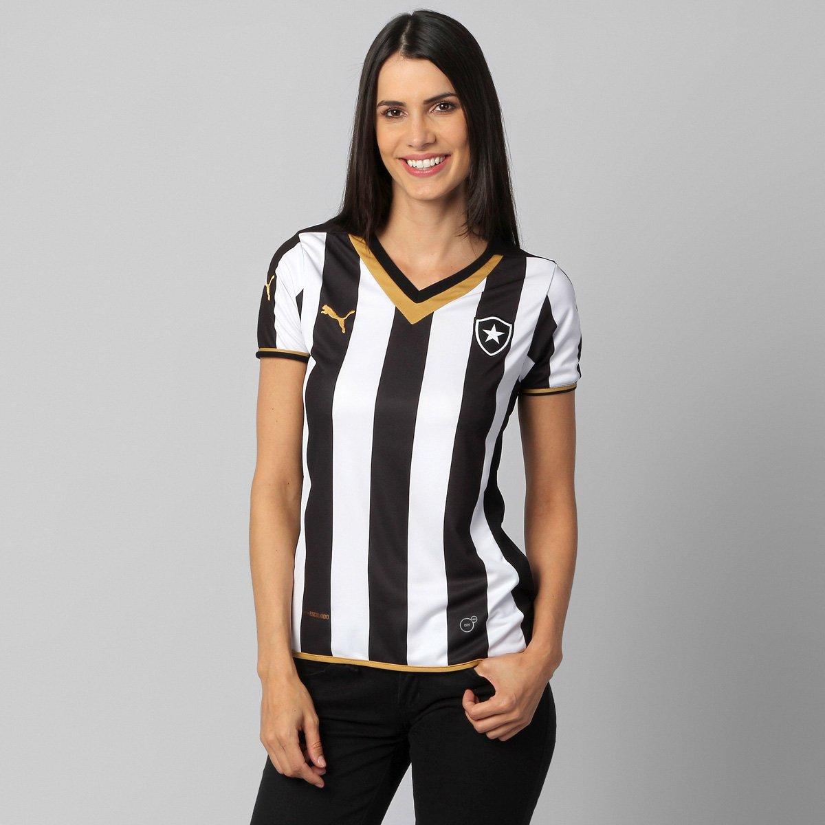 955858f034 Camisa Feminina Puma Botafogo I 2014 s nº - Compre Agora