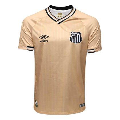 Camisa Feminina Santos Gold Edition Oficial Umbro