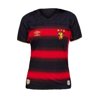 Camisa Feminina Sport Recife 2020/2021 I Home Oficial S/N