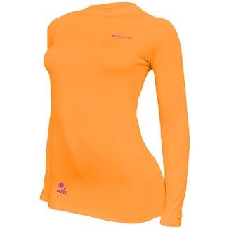 Camisa Feminina Térmica Stigli Pro Proteção Solar FPU 50 Manga Longa Luna Poliamida