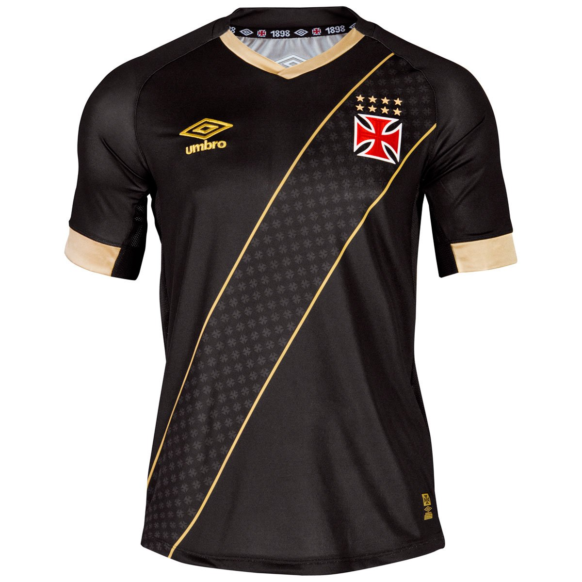 ad09e9895b Camisa Feminina Umbro Vasco III 2015 s nº - Compre Agora