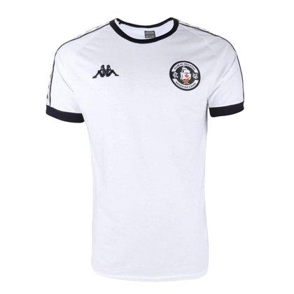 Camisa Feminina Vasco 2021 Comissão Branca Kappa Oficial