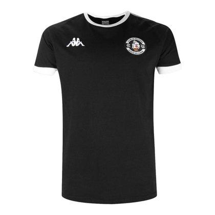 Camisa Feminina Vasco 2021 Comissão Preta Kappa Oficial