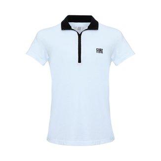 Camisa Fiatwear Polo Trend  Feminina