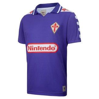 Camisa Fiorentina Retrô 1998 Batistuta Masculina