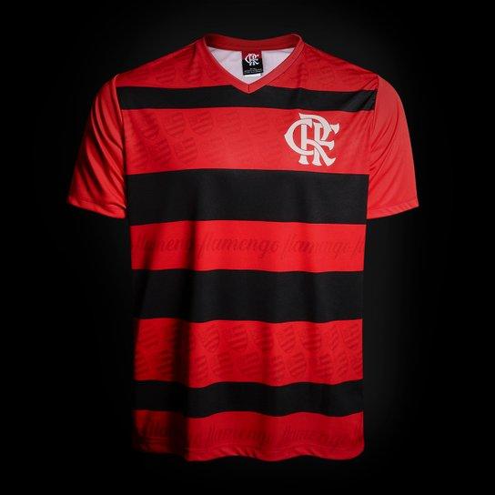 Camisa Flamengo 1995 n° 10 - Edição Limitada Masculina - Vermelho+Preto