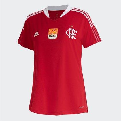 Camisa Flamengo 30 Anos da Copa Adidas Feminina