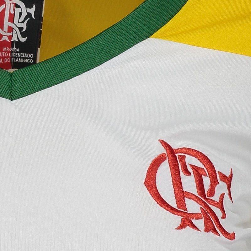 362767397f Camisa Flamengo Brasil Retrô Feminina - Compre Agora