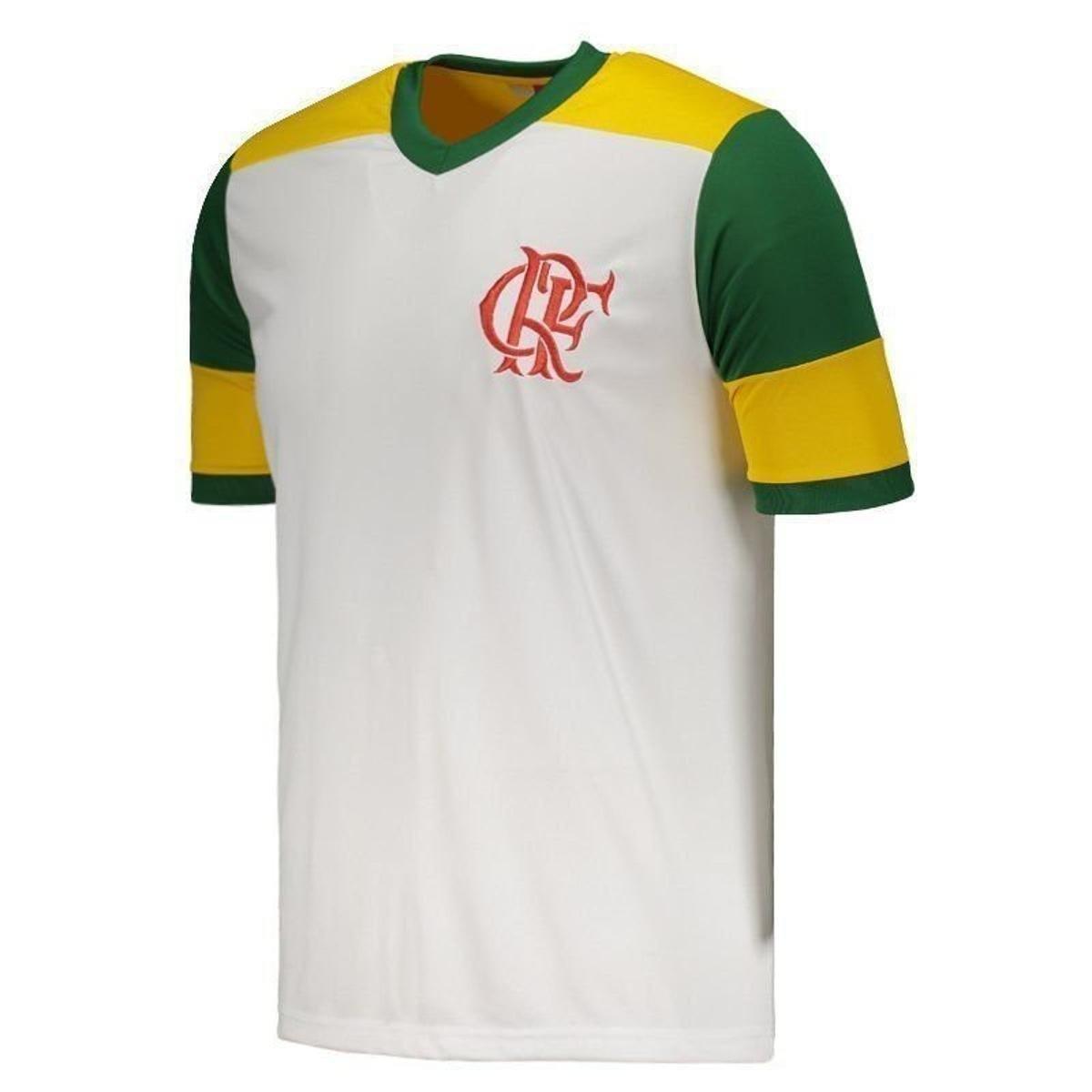 74cbb9662b Camisa Flamengo Brasil Retrô Masculina  Camisa Flamengo Brasil Retrô  Masculina ...