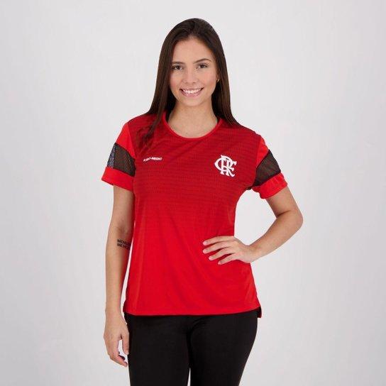 Camisa Flamengo Deserve Feminina - Vermelho