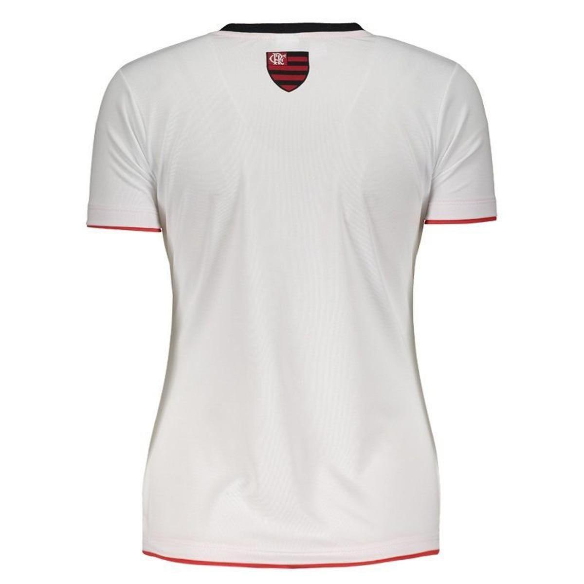 Camisa Flamengo Fire Feminina - Branco - Compre Agora  c8e8951a87065