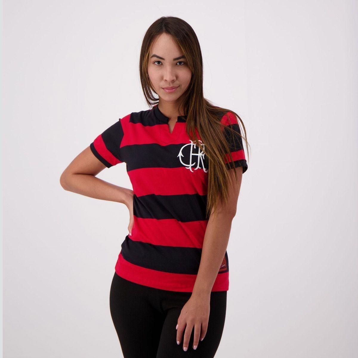 Camisa Flamengo Fla-Tri Feminina - Vermelho - Compre Agora  5be61a516b0f6