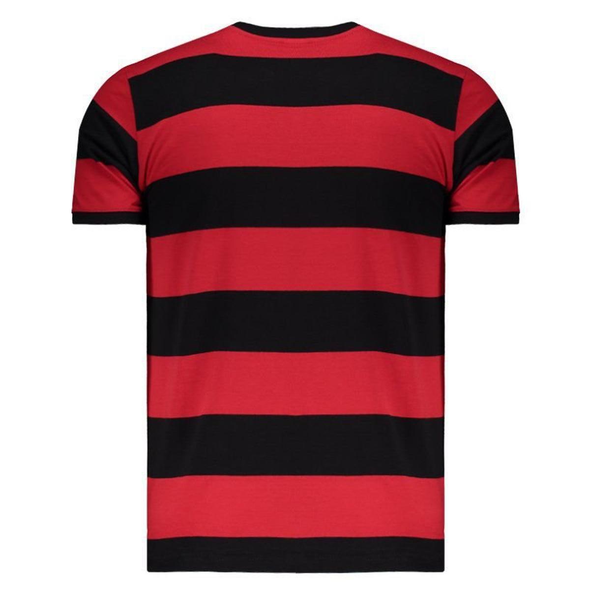 8e9d4cb262 Camisa Flamengo Fla-Tri Masculina - Preto e Vermelho - Compre Agora ...