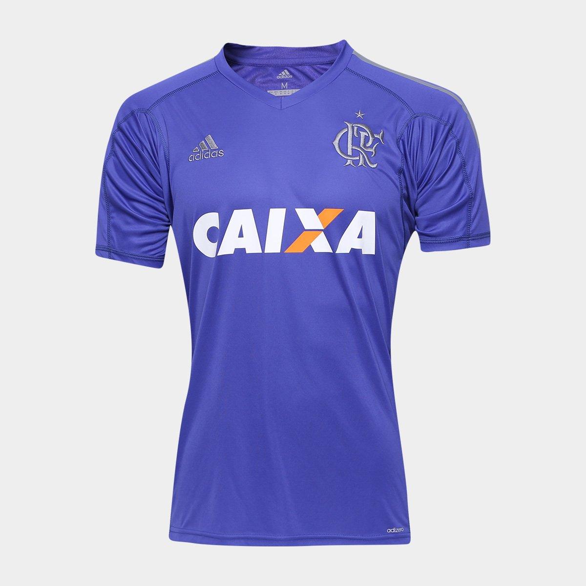 Camisa Flamengo Goleiro I 17 18 s n° - c  Patrocinio Adidas Masculina -  Compre Agora  4e87699eb2ce8