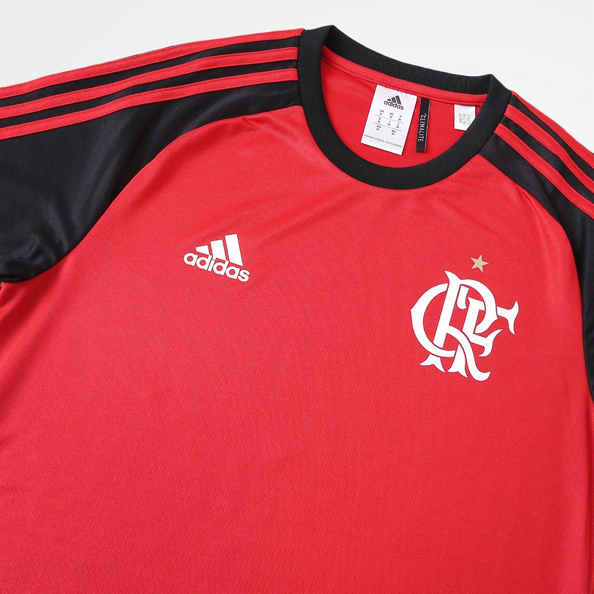 f71968e640 Camisa Flamengo I 17 18 Réplica Torcedor Adidas Masculina - Compre ...