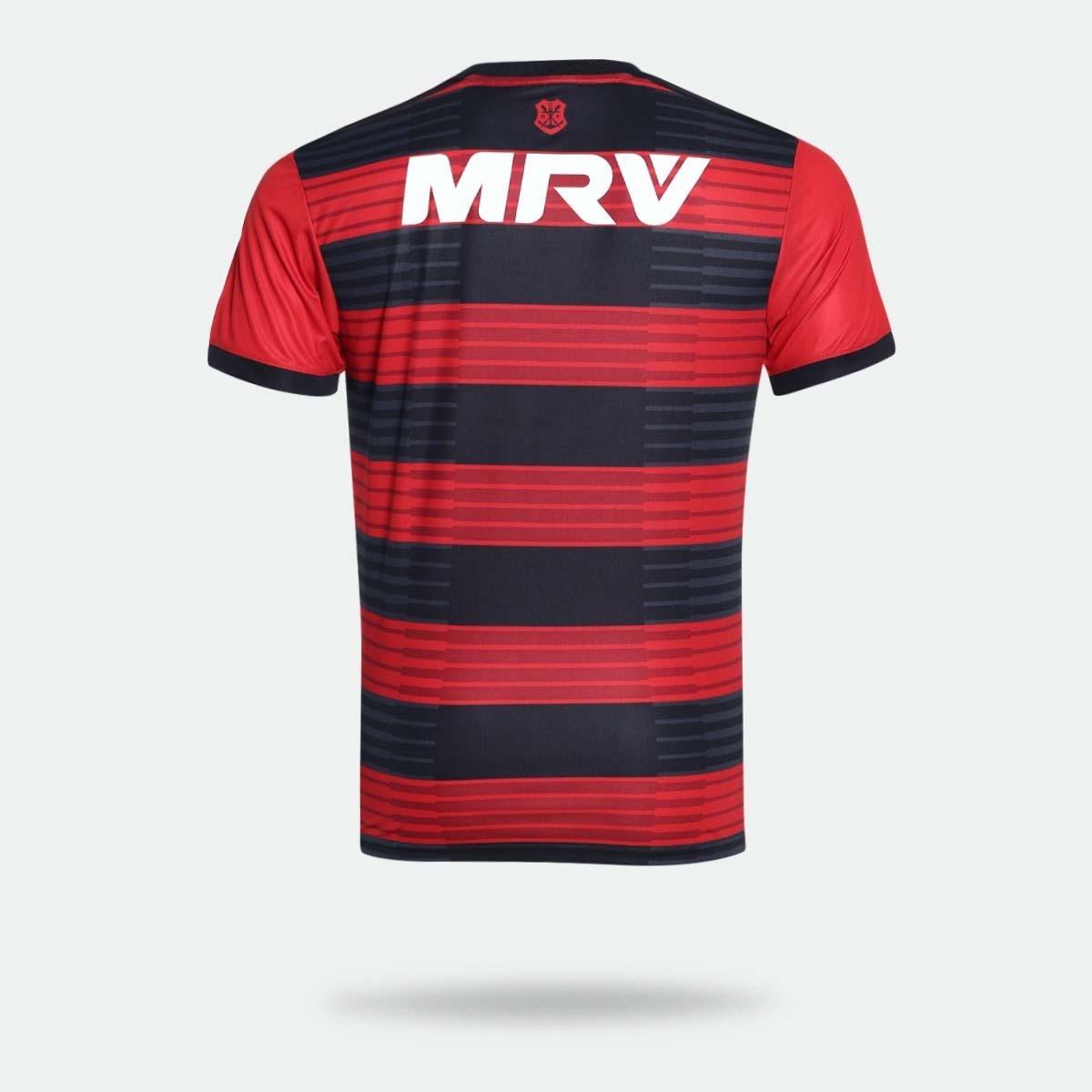 c0ba62c823 Camisa Flamengo I 2018 s n° Torcedor Adidas Masculina - Vermelho e ...