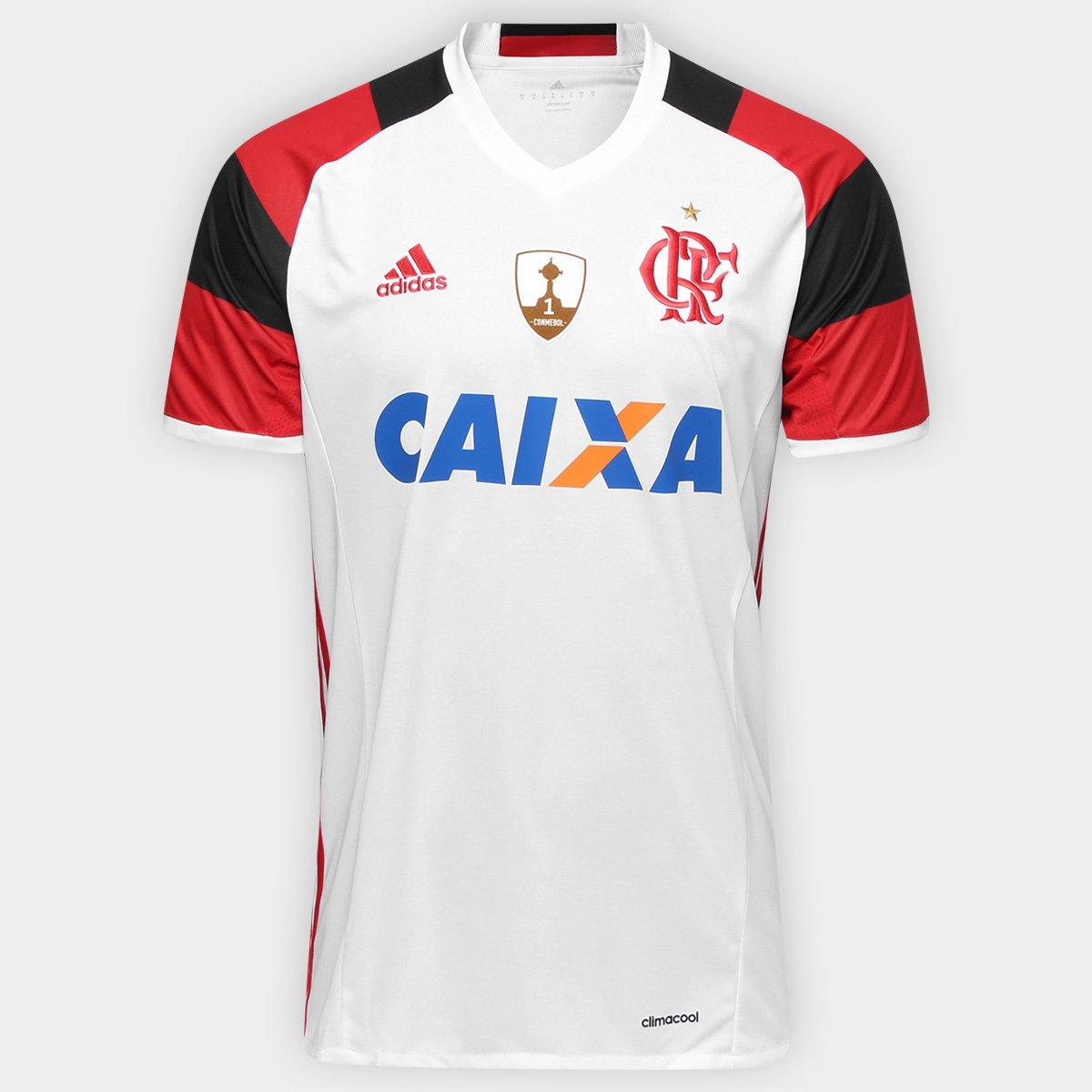 Camisa Flamengo II 16 17 s nº Patch Libertadores Adidas Masculina - Compre  Agora  dd1a6ab9a8634