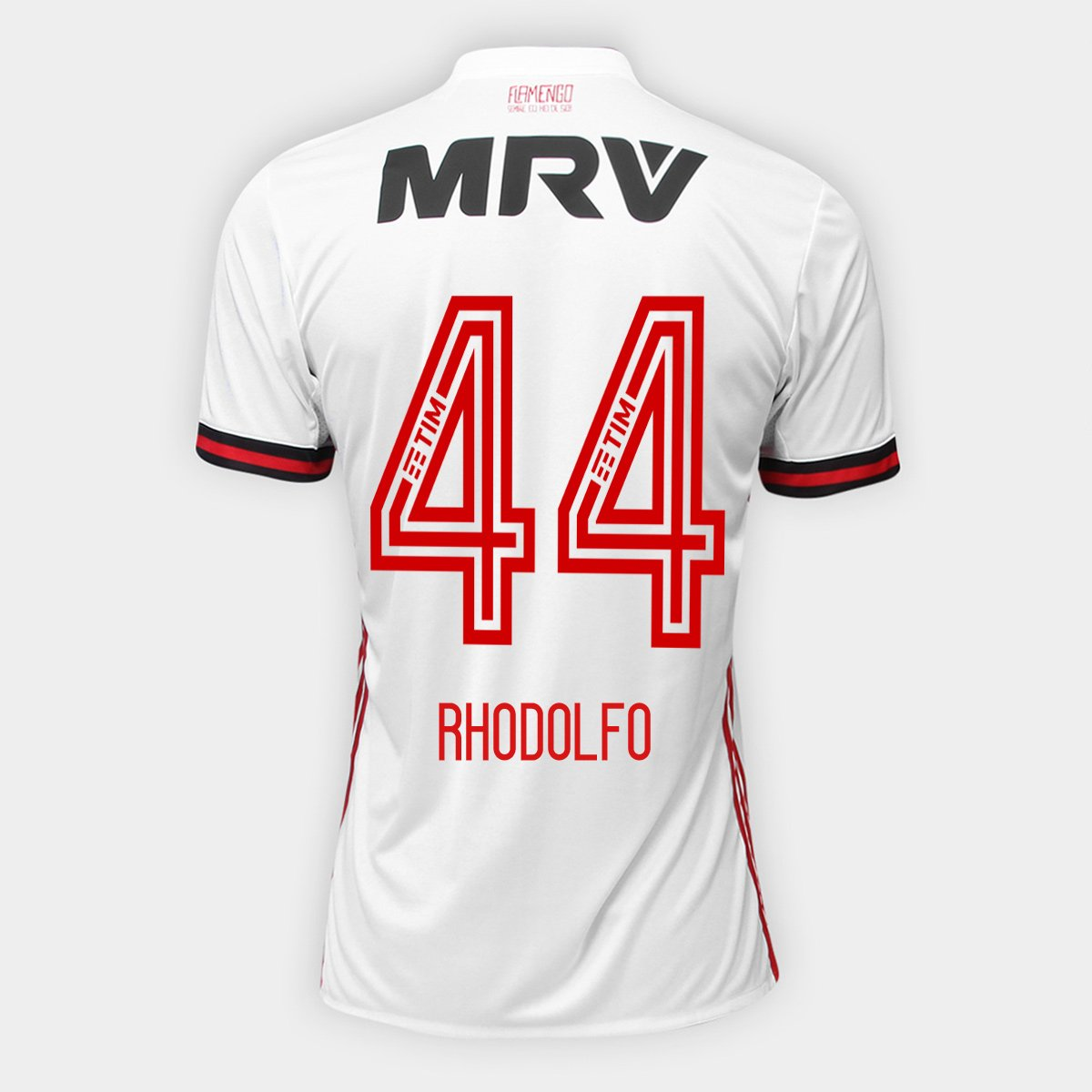 Camisa Flamengo II 17 18 N° 44 - Rhodolfo Torcedor Adidas Masculina -  Compre Agora  c054490d5f7e2