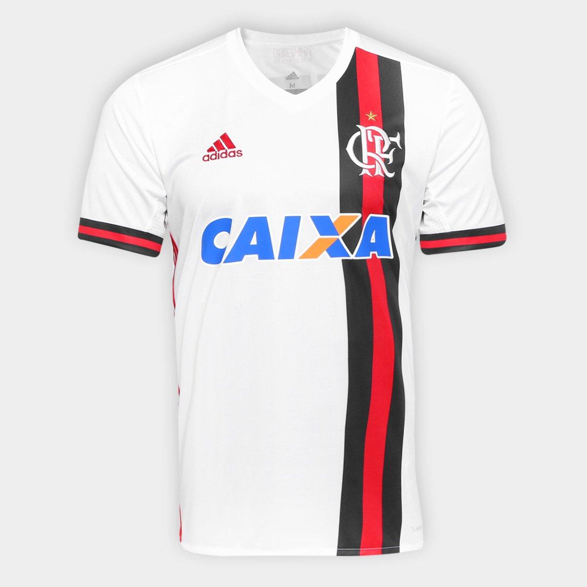 Camisa Adidas Flamengo II 17 18 N° 7 - E. Ribeiro - Compre Agora ... b981e969570af