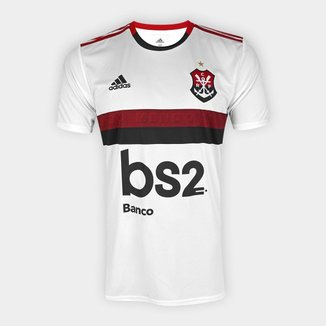 Camisa Flamengo II 19/20 s/nº Torcedor c/ Patrocínio Adidas Masculina