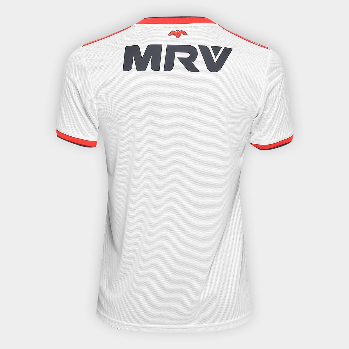 cdffd413e3 Camisa Flamengo II 2018 s n° Torcedor Adidas Masculina - Off White e ...