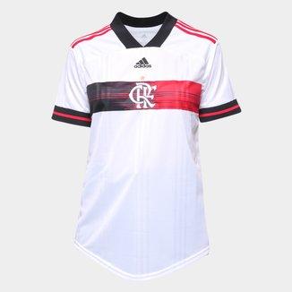 Camisa Flamengo II 20/21 s/nº Torcedor Adidas Feminina