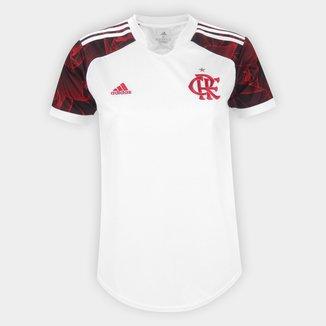 Camisa Flamengo II 21/22 s/n° Torcedor Adidas Feminina