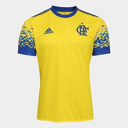 Oferta Camisa Flamengo III 17/18 Adidas Masculina por R$ 199.99