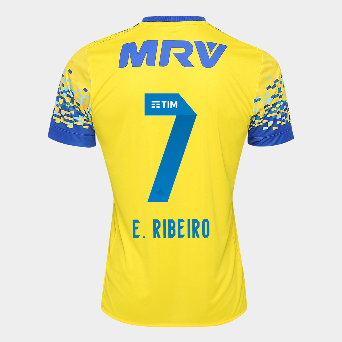 b3acab0c55 Camisa Flamengo III 17 18 N° 7 - E. Ribeiro Torcedor Adidas Masculina -  Compre Agora