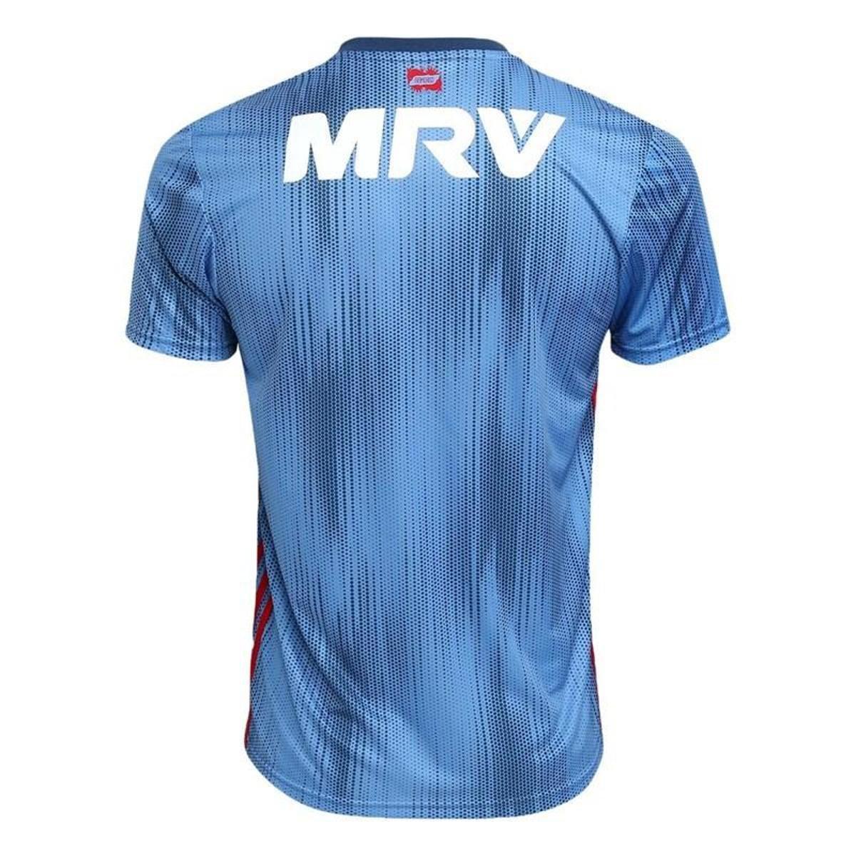 Camisa Flamengo III 2018 s n° - Torcedor Adidas Masculina - Azul ... a2f12bd4d8bea