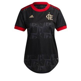 Camisa Flamengo III 21/22 s/n° Torcedor Adidas Feminina