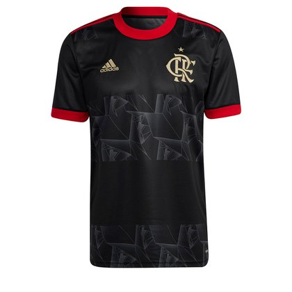 Camisa Flamengo III 21/22 s/n° Torcedor Adidas Masculina