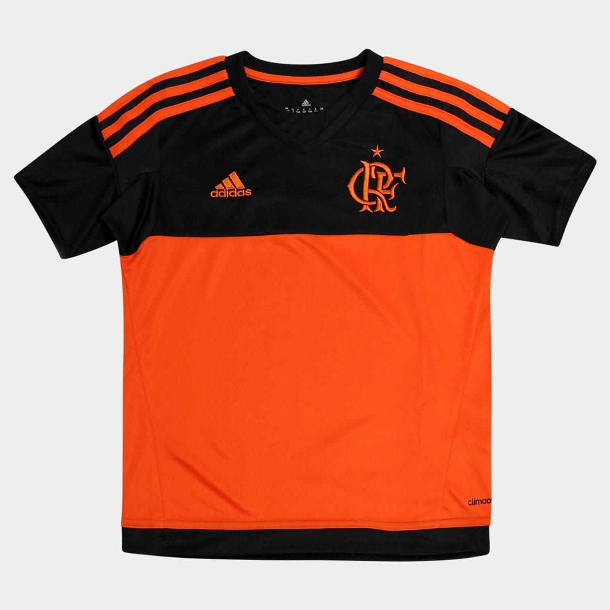 2b6765fc0e Camisa Flamengo Infantil Goleiro 2015 s nº Torcedor Adidas - Compre Agora