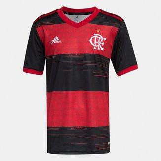 Camisa Flamengo Infantil I 20/21 s/n° Torcedor Adidas