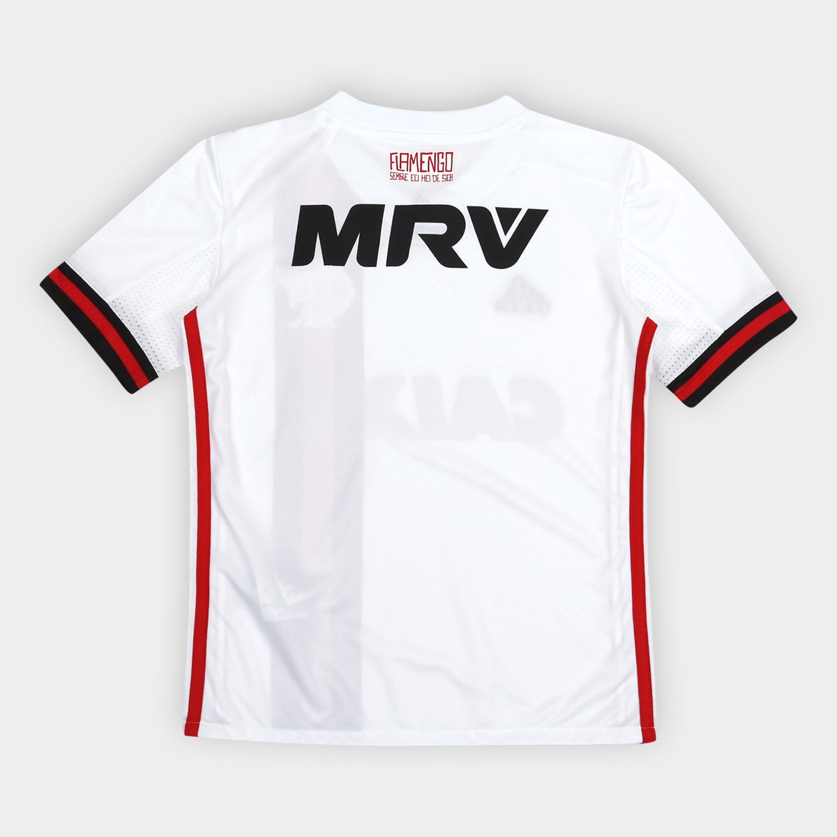 5712e7f50f ... Camisa Flamengo Infantil II 17 18 s nº c  Patrocínio - Torcedor Adidas  ...