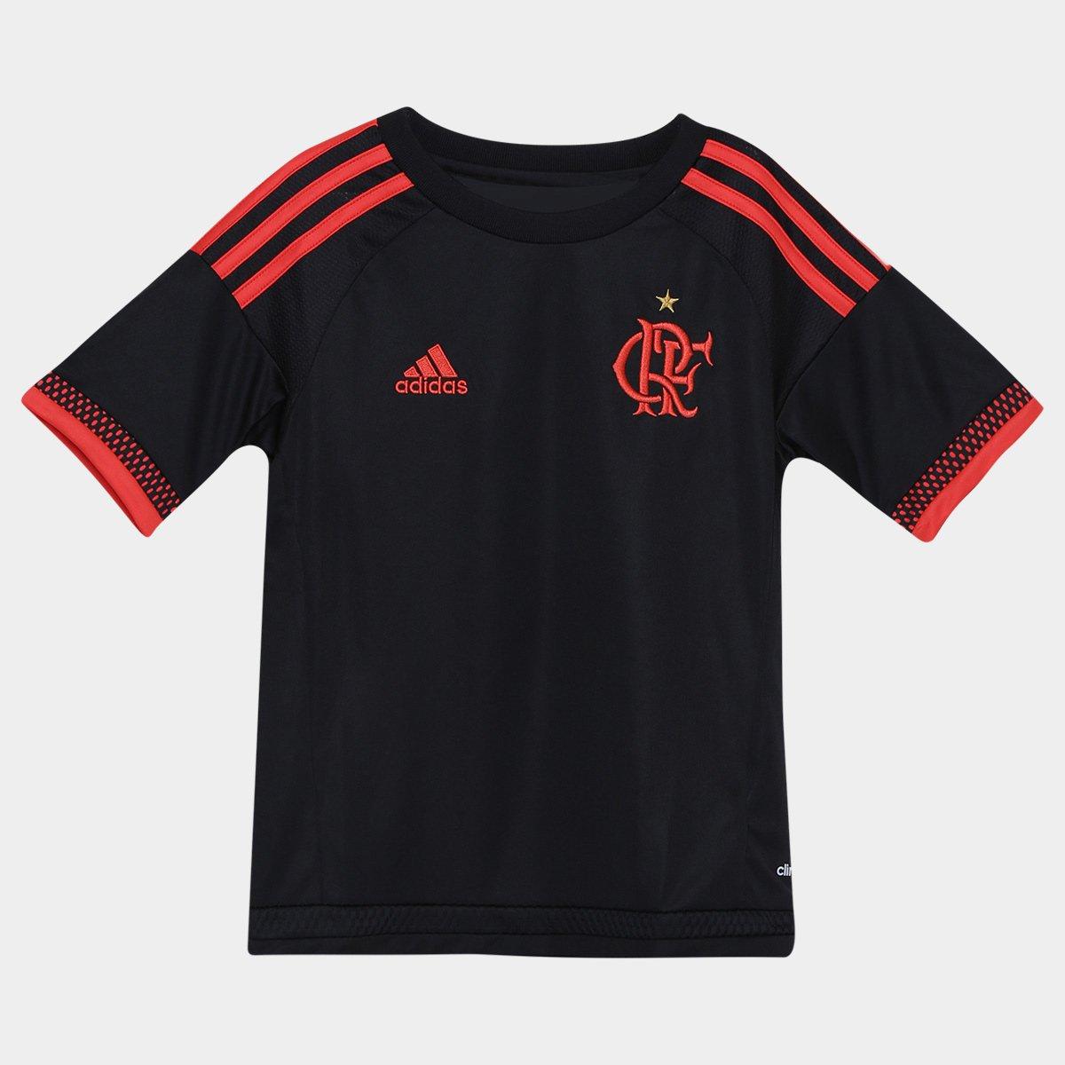 Camisa Flamengo Infantil III 2016 s nº Adidas - Compre Agora  05f43390d24