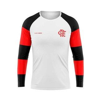 Camisa Flamengo Infantil Manga Longa Steep Braziline G