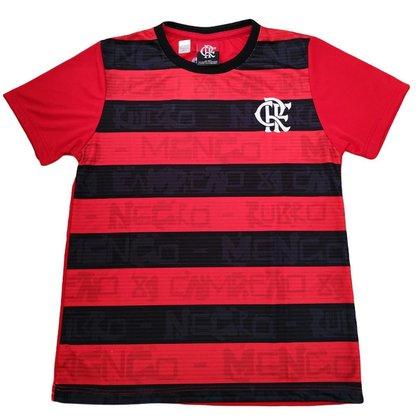 Camisa Flamengo Infantil Rubro Negro Oficial