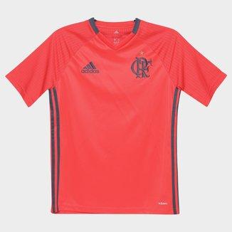 Camisa Flamengo Infantil Treino 2016 - Torcedor Adidas