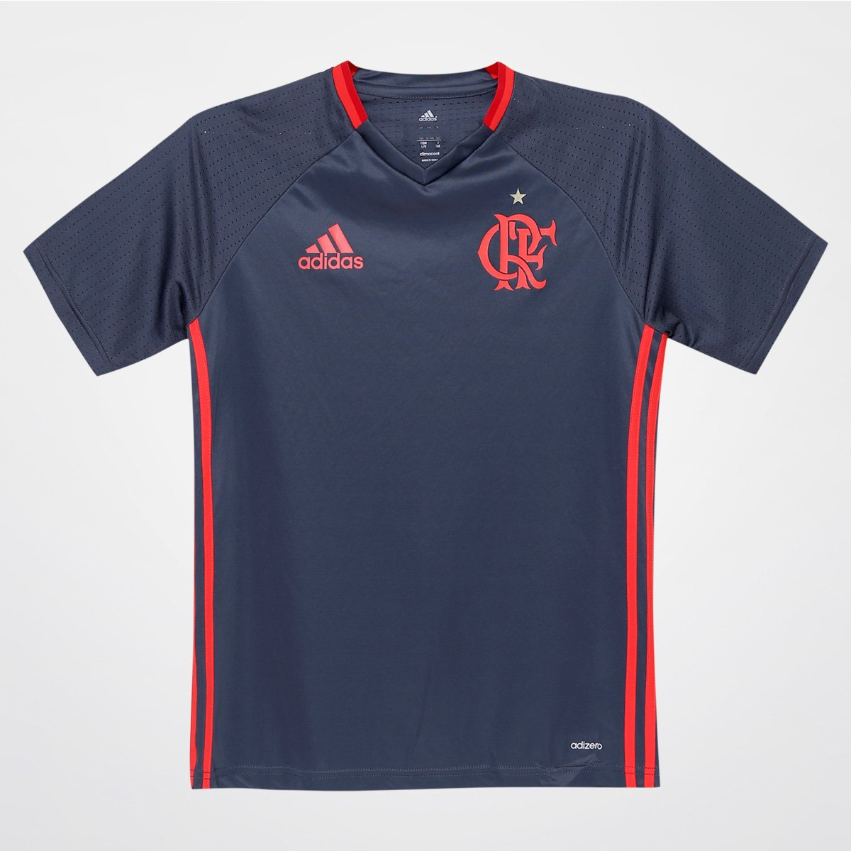 Camisa Flamengo Infantil Treino 2016 - Torcedor Adidas - Compre Agora  7894d6af65c36