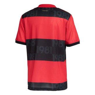 Camisa Flamengo Jogo 1 Adidas 2021 P