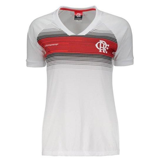 Camisa Flamengo Legend Feminina - Branco