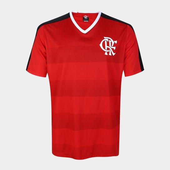 Camisa Flamengo Manto Sagrado n° 9 Masculina - Vermelho