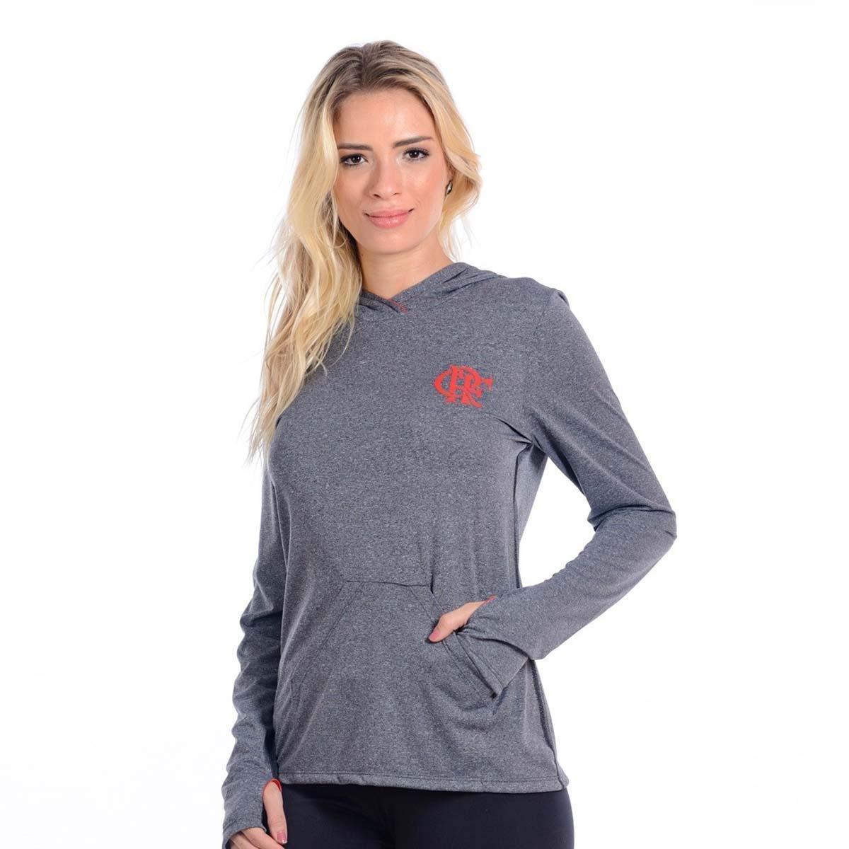 Camisa Flamengo ML Capuk Feminina Braziline - Compre Agora  4b18f52471d3b