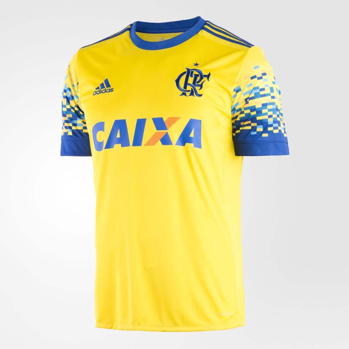 59e61cd9d5 Camisa Flamengo Oficial 3 2017 - Compre Agora