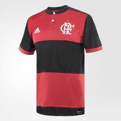 Camisa Flamengo Oficial Jogo 1 2017 - Compre Agora  381cb1d9ced45