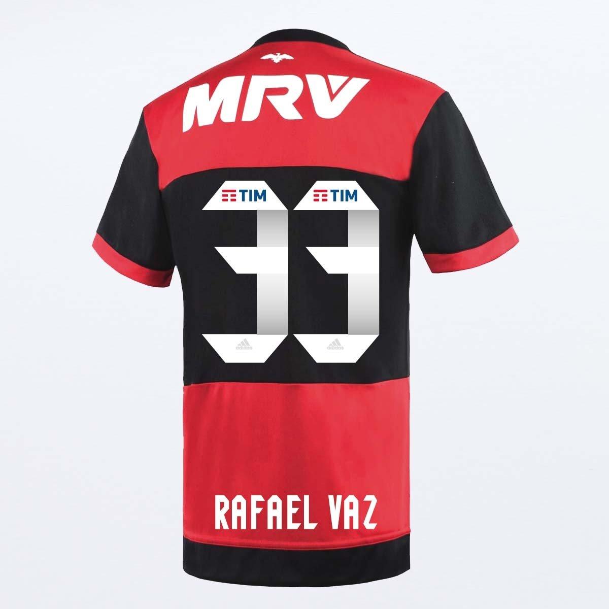 Camisa Flamengo Oficial Jogo 1 Adidas 2017 Rafael Vaz - Compre Agora ... 97c4702d0c1c2