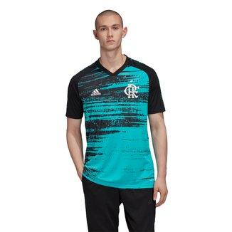 Camisa Flamengo Pré Jogo 20/21 Adidas Masculina