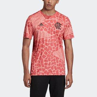 Camisa Flamengo Pré-Jogo 20/21 Adidas Masculina