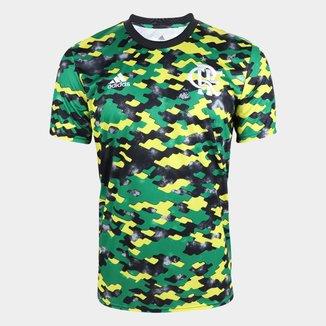 Camisa Flamengo Pré-Jogo 21/22 Adidas Masculina